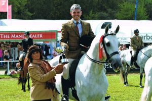 Royal Windsor Horse Show Spanish PRE champion
